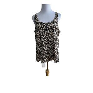 Calvin Klein Leopard Print Sleepwear tank